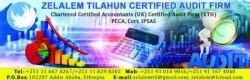 Zelalem Tilahun Certified Auditor Firm